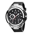 Armani Exchange Men's Black Strap Chronograph Watch - Product number 8237808