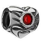 Chamilia - sterling silver January birthstone bead - Product number 8238766