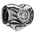 Chamilia - sterling silver April birthstone bead - Product number 8238790