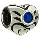 Chamilia - sterling silver September birthstones bead - Product number 8238839