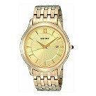Seiko men's gold-plated bracelet watch - Product number 8246335