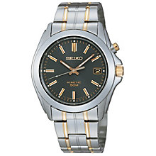 Seiko men's two colour bracelet watch - Product number 8246424