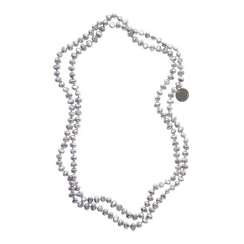 Ted Baker grey pearl necklace