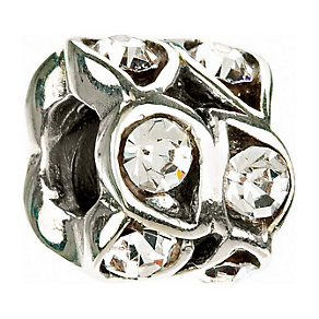 Chamilia - Sterling Silver & White Crystal Bead - Product number 8341001