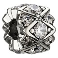 Chamilia - Sterling Silver & White Swarovski Crystal Bead - Product number 8341036