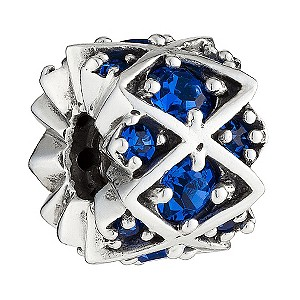 Chamilia - Sterling Silver Blue Swarovski Bead - Product number 8341044