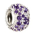 Chamilia - Sterling Silver & Purple Swarovski Crystal Bead - Product number 8341095
