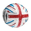 Chamilia - Sterling Silver Flag Bead - Product number 8341346