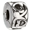 Chamilia - Sterling Silver Heart Lock Bead - Product number 8341672