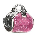 Chamilia - Sterling Silver Pink Purse Bead - Product number 8341699