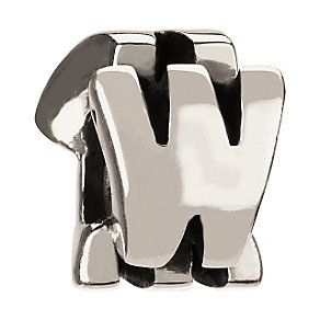 Chamilia - sterling silver letter W - Product number 8342105