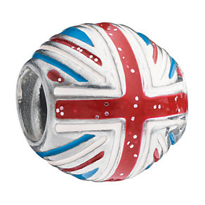 Chamilia - sterling silver Union Jack bead - Product number 8342253