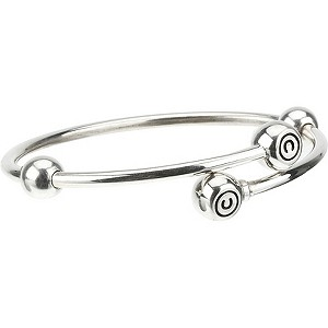 Chamilia - sterling silver flex bangle large - Product number 8342407