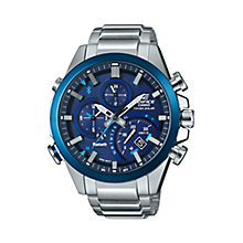 Casio Edifice Men's Blue Chronograph Bracelet Watch - Product number 8344698