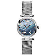 Gc LadyChic Ladies' Stainless Steel Mesh Bracelet Watch - Product number 8346844