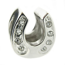 Truth Sterling Silver Horseshoe Bead - Product number 8347689