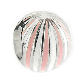 Truth - Sterling Silver Pink & White Bal l Bead - Product number 8347727