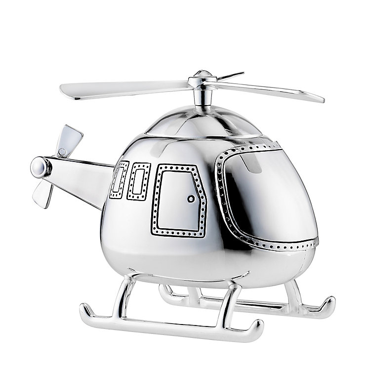 Silver Plated Helicopter - Product number 8348545