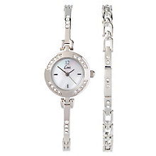 Limit Ladies' Stainless Steel Watch & Bracelet Gift Set - Product number 8348790