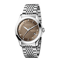 Gucci Timeless men's stainless steel watch - Product number 8349606