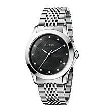 Gucci Timeless men's stainless steel diamond watch - Product number 8349614
