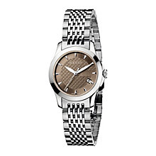 Gucci Timeless ladies' stainless steel bracelet watch - Product number 8349649