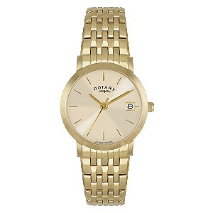 Rotary ladies' gold-plated bracelet watch - Product number 8351570