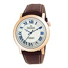 Dreyfuss and co mens rose gold plated watch