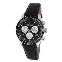 Dreyfuss & co men's black strap watch - Product number 8351716