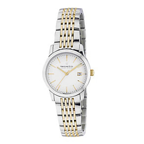Dreyfuss & co ladies' two colour bracelet watch - Product number 8351732