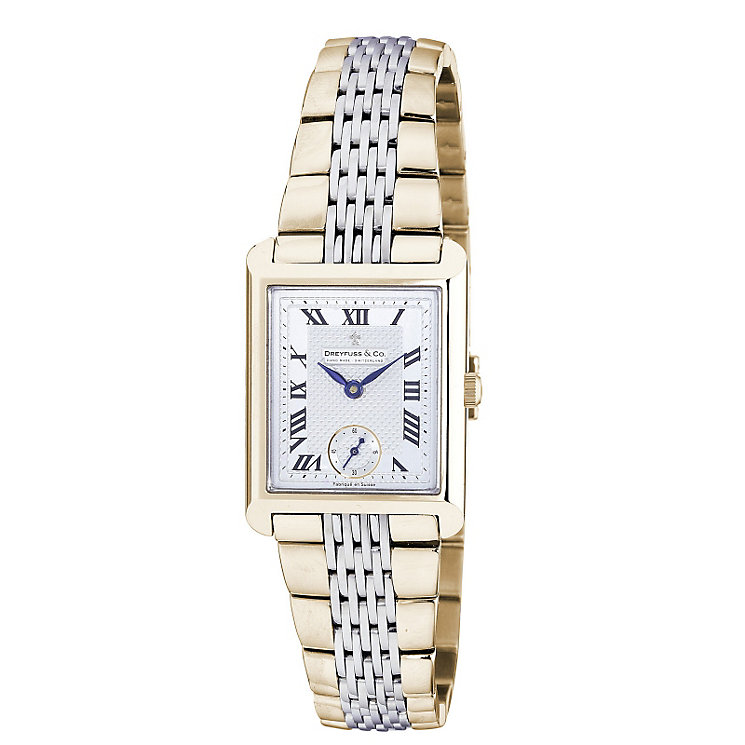 Dreyfuss & co ladies' two colour bracelet watch - Product number 8351740