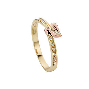 Clogau 9ct Gold Love Vine Ring - Product number 8356564