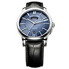 Maurice Lacroix men's black leather strap watch - Product number 8357196