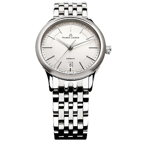 Maurice Lacroix stainless steel bracelet watch