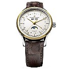 Maurice Lacroix men's two colour date dial brown strap watch - Product number 8357242