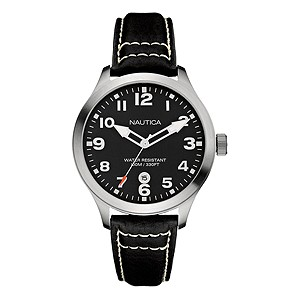 Nautica men's black strap watch - Product number 8359709