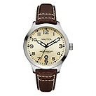 Nautica men's brown strap watch - Product number 8359717