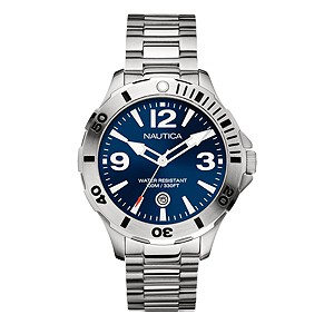 Nautica men's stainless steel bracelet watch - Product number 8359792