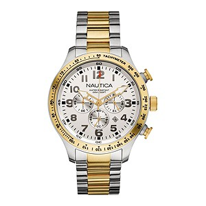 Nautica men's two colour chronograph watch - Product number 8359830