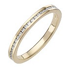 Daisy Ginger sterling silver gold-plated cz ring N - Product number 8364028