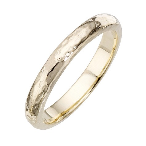 Daisy Rosemary sterling silver gold-plated ring Size P