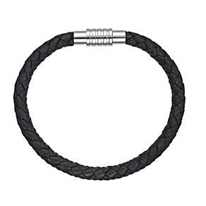 Spartan Jupiter black leather bracelet 22cm - Product number 8365334