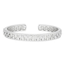 Neil Lane Sterling Silver 0.33ct Diamond Bangle - Product number 8367299