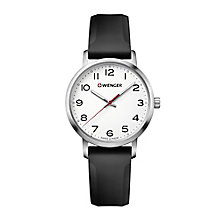 Wenger Field Color Ladies' Black Silicone Strap Watch - Product number 8367639