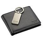 Hugo Boss black wallet and keyring set - Product number 8367876
