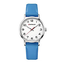 Wenger Field Color Ladies' Blue Silicone Strap Watch - Product number 8367922