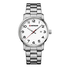 Wenger Field Color Men's Stainless Steel Bracelet Watch - Product number 8368236