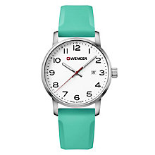 Wenger Field Color Men's Green Silicone Strap Watch - Product number 8368252