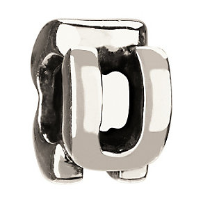 Chamilia - Sterling Silver Letter U Bead - Product number 8368783