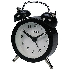 Eko Black Alarm Clock